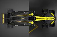 Comparación Renault R.S.17 vs. R.S.18