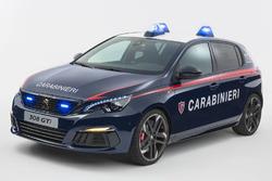 Peugeot 308 GTi des Carabiniers italiens