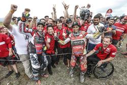 #47 Monster Energy Honda Team: Kevin Benavides, #68 Monster Energy Honda Team Honda: José Ignacio Co