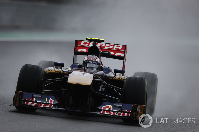 2013: Toro Rosso STR8 (одно шестое место, 8-е место в КК)