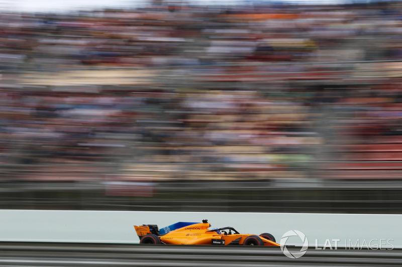 Fernando Alonso, achtste plaats