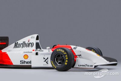1993 Ayrton Senna McLaren açık arttırması