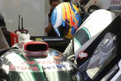 #8 Toyota Gazoo Racing Toyota TS050-Hybrid: Fernando Alonso