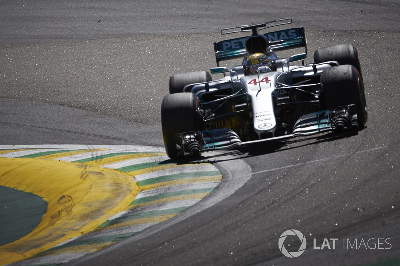 Hamilton is told that a podium is on the cards