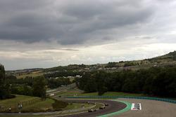 Felipe Massa, Ferrari 248 F1, Mark Webber, Williams FW28 en Kimi Raikkonen, McLaren Mercedes MP4/21