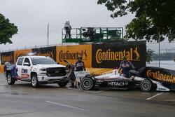 Josef Newgarden, Team Penske Chevrolet, Crash
