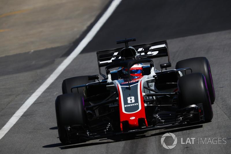 Ромен Грожан, Haas F1 Team VF-18.