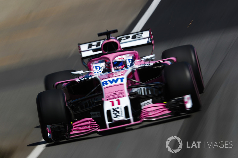 10. Серхіо Перес, Force India VJM11