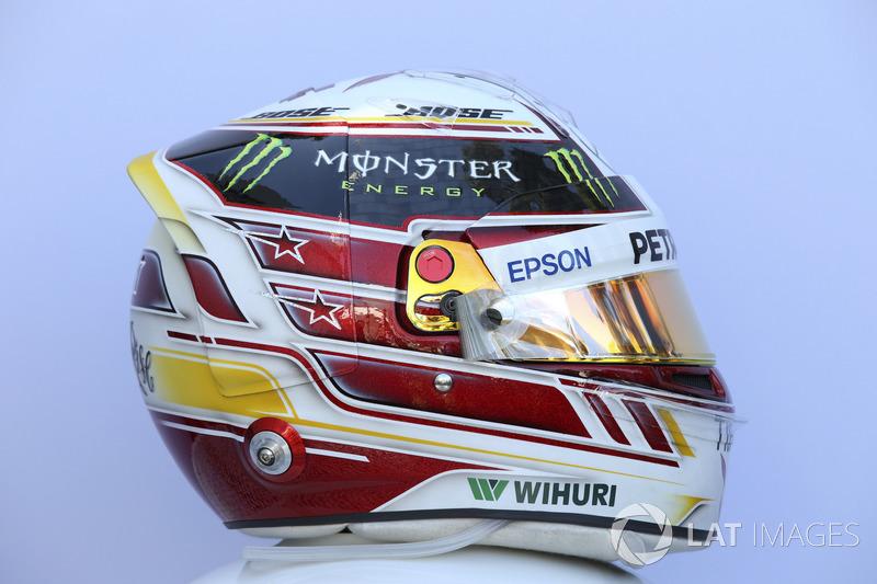 Casco de Lewis Hamilton, Mercedes-AMG F1