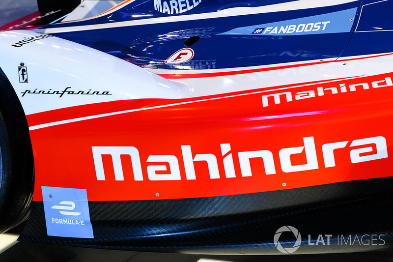 Mahindra Racing Formula E side detail