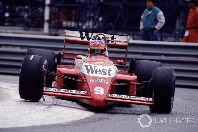 11. Piercarlo Ghinzani, 76 GPs (1981, 1983-1989), o melhor resultado é o 5° lugar em Dallas 1984.