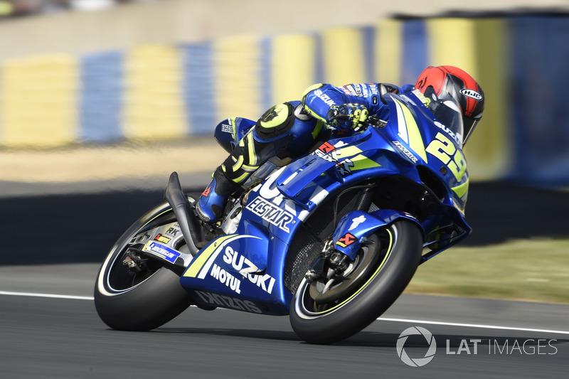 Ausfall: Andrea Iannone, Team Suzuki MotoGP