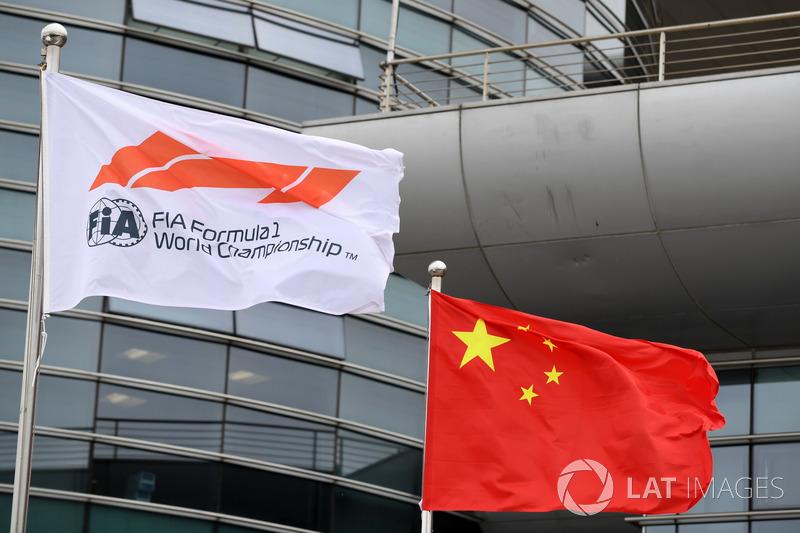 Bendera FIA dan Tiongkok
