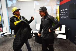 Carlos Sainz Jr., Renault Sport F1 y Fernando Alonso, McLaren