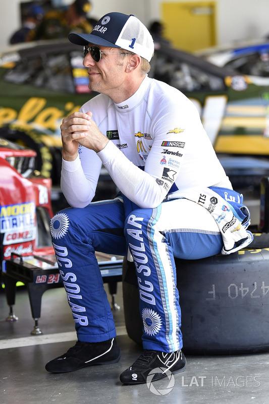 Jamie McMurray, Chip Ganassi Racing, Chevrolet Camaro DC Solar