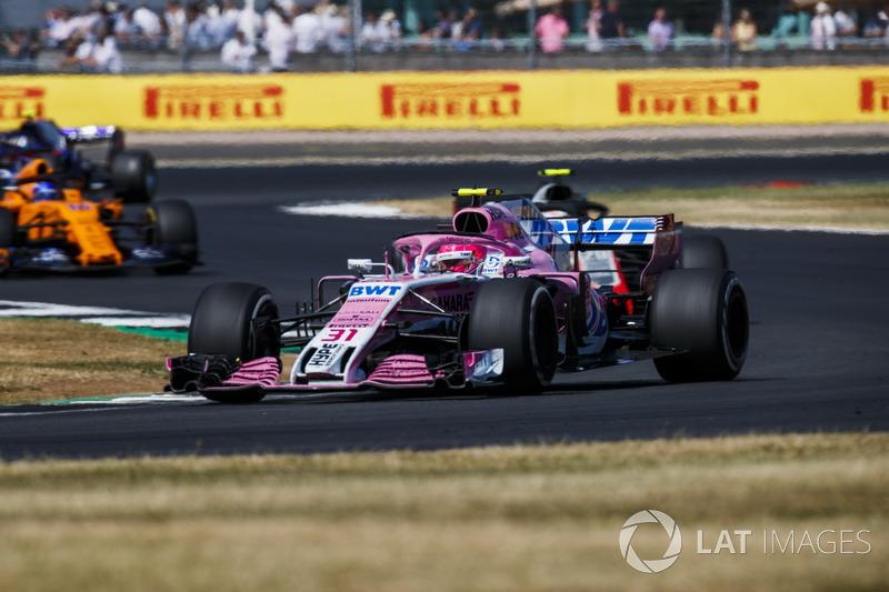 Esteban Ocon - Force India: 9