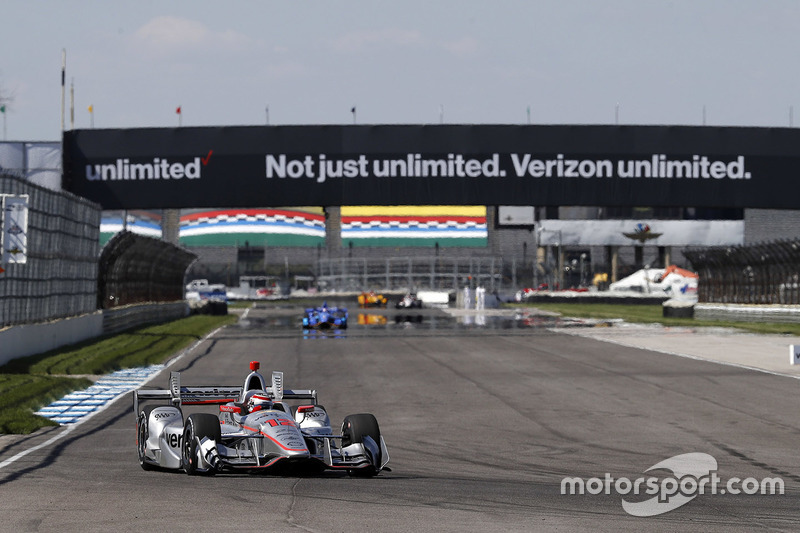 2017: Will Power (Penske-Chevrolet) mit 1:07,705 Minuten