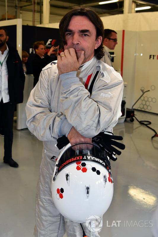 Adam Cooper, F1-Doppelsitzer