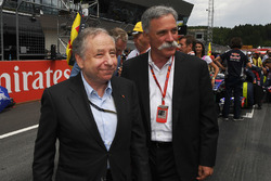 Jean Todt, FIA President, Chase Carey, Chief Executive Officer, Executive Chairman of the Formula One Group