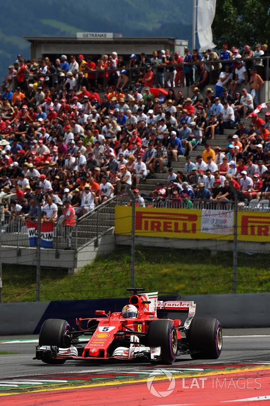 Sebastian Vettel, Ferrari SF70H
