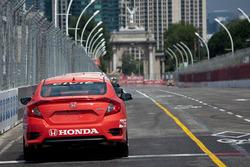 Streckensicherungsfahrzeug: Honda Civic