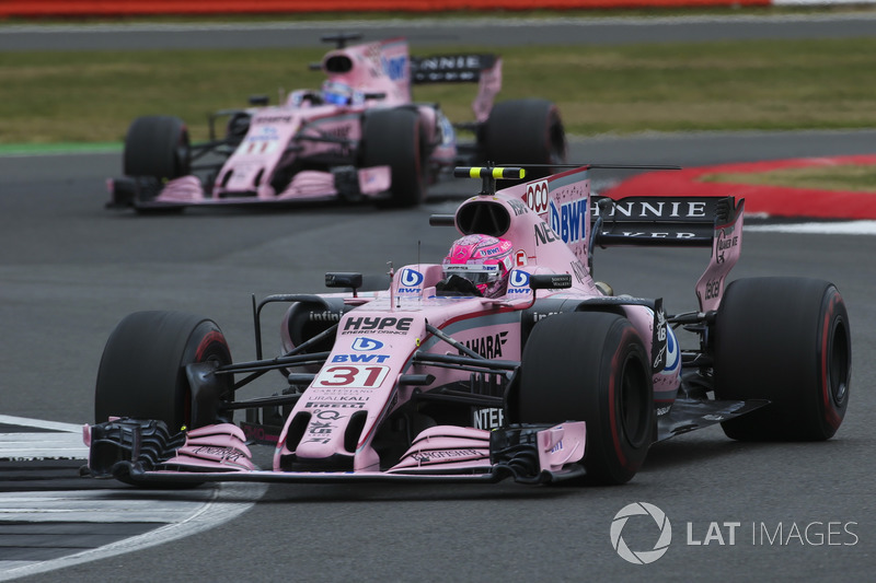 Force India y BWT