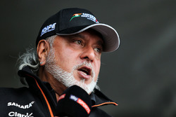 Dr. Vijay Mallya, Sahara Force India Formula One Team takım sahibi