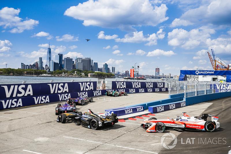 Daniel Abt, ABT Schaeffler Audi Sport, lidera a Alex Lynn, DS Virgin Racing, y Sam Bird, DS Virgin R