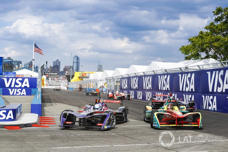 Sam Bird, DS Virgin Racing, Daniel Abt, ABT Schaeffler Audi Sport