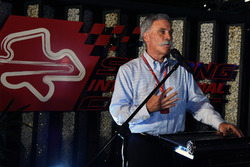 Chase Carey, Chief Executive Officer and Executive Chairman of the Formula One Group at Petronas BBQ