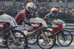 Angel Nieto, Bultaco 50cc and Eugenio Lazzarini, Kreidler