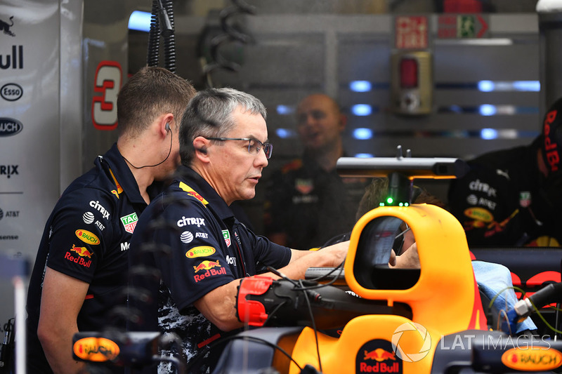 Mechaniker von Red Bull Racing