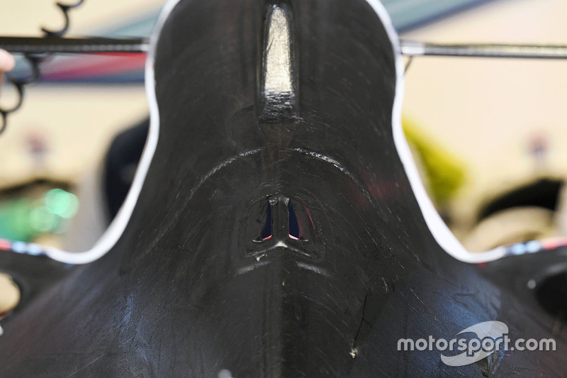 Williams FW40 bodywork detail