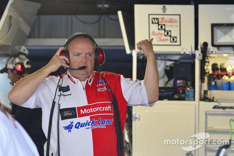 Jeremy Bullins, jefe de equipo
