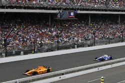 Fernando Alonso, Andretti Autosport Honda, Takuma Sato, Andretti Autosport Honda