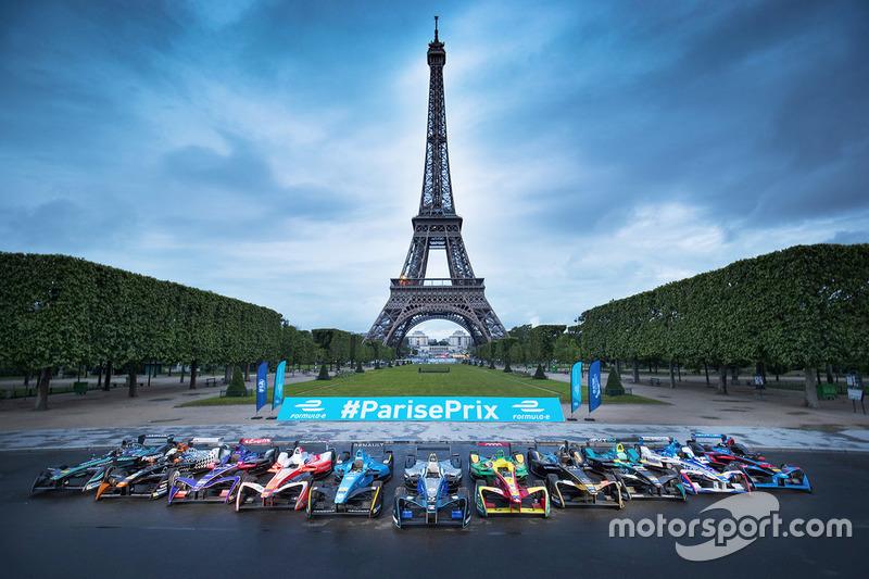 Le plateau de la Formule E à Paris