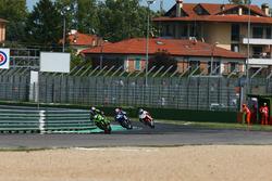 Kenan Sofuoglu, Kawasaki Puccetti Racing; Lucas Mahias, GRT Yamaha Official WorldSSP Team; P.J. Jacobsen, MV Agusta