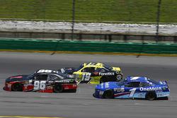 Ben Kennedy, GMS Racing Chevrolet, Matt Tifft, Joe Gibbs Racing Toyota ,Elliott Sadler, JR Motorsports Chevrolet