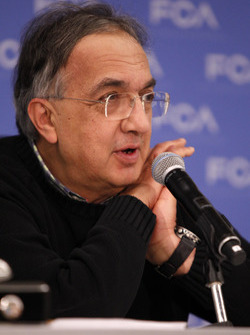 Sergio Marchionne, CEO de Fiat Chrysler Automobiles