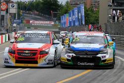 Esteban Guerrieri, Campos Racing, Chevrolet RML Cruze TC1, Mehdi Bennani, Sébastien Loeb Racing, Citroën C-Élysée WTCC