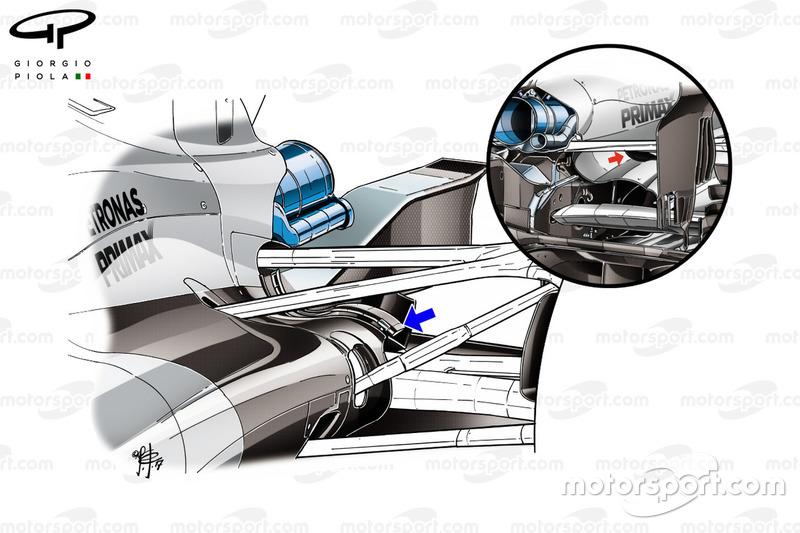 """مقارنة بين رفرف التبريد لسيارة مرسيدس """"دبليو08"""""""