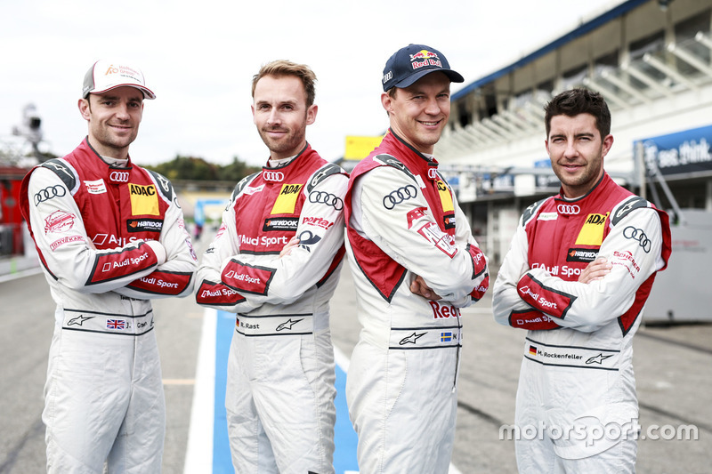 Jamie Green, Audi Sport Team Rosberg, René Rast, Audi Sport Team Rosberg, Mattias Ekström, Audi Spor