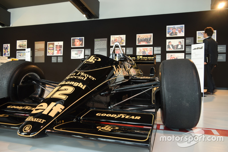 Lotus-Renault 98T von Ayrton Senna aus der Formel-1-Saison 1986