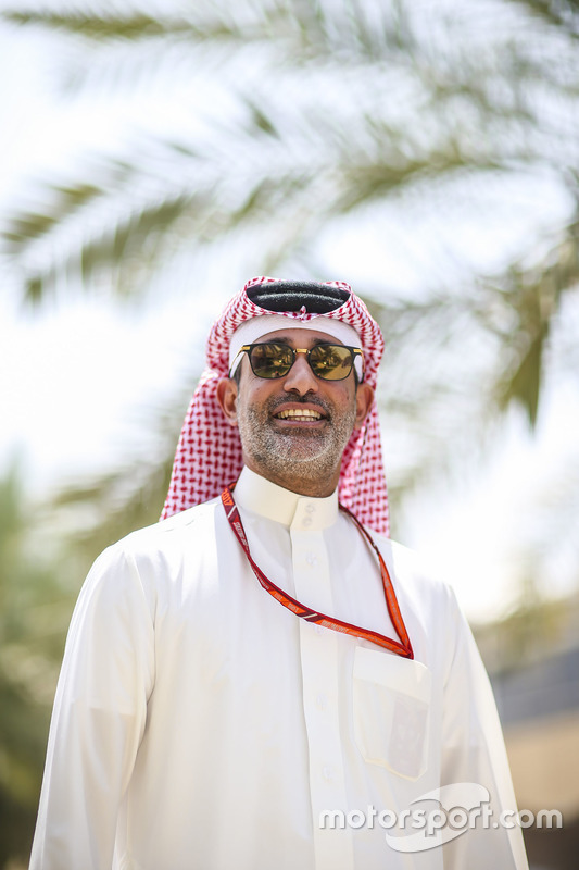 الشيخ سلمان بن عيسى آل خليفة، المُدير التنفيذي لحلبة البحرين