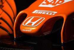 McLaren MCL32 nosecone