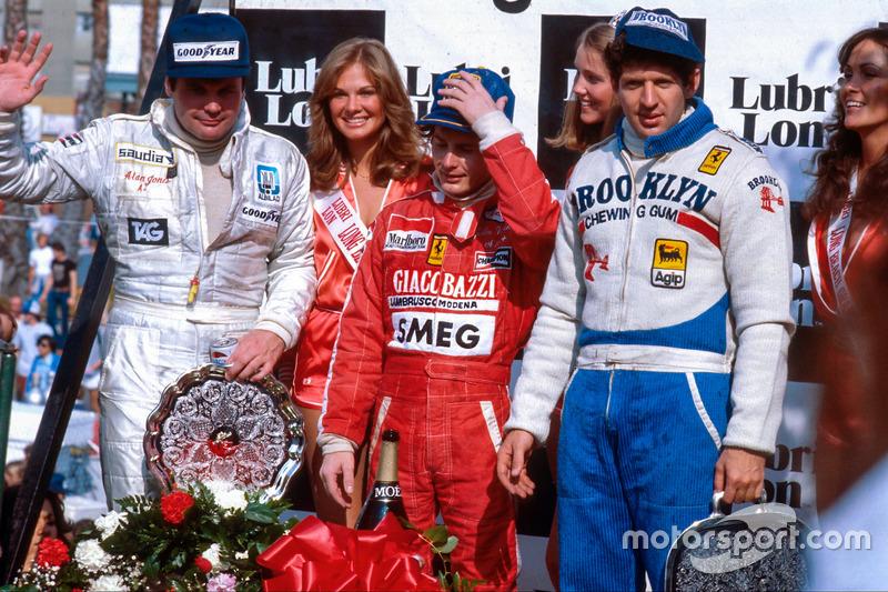 Gilles Villeneuve* (6 victorias)