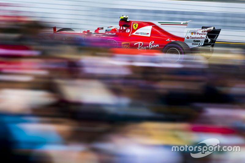 10. Kimi Raikkonen, Ferrari SF70H