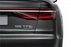 Audi-Heckklappe mit neuer Kennzeichnung