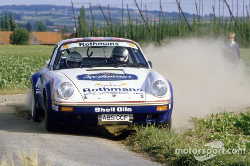 Porsche 911 Sc Rs At Ypres Rally