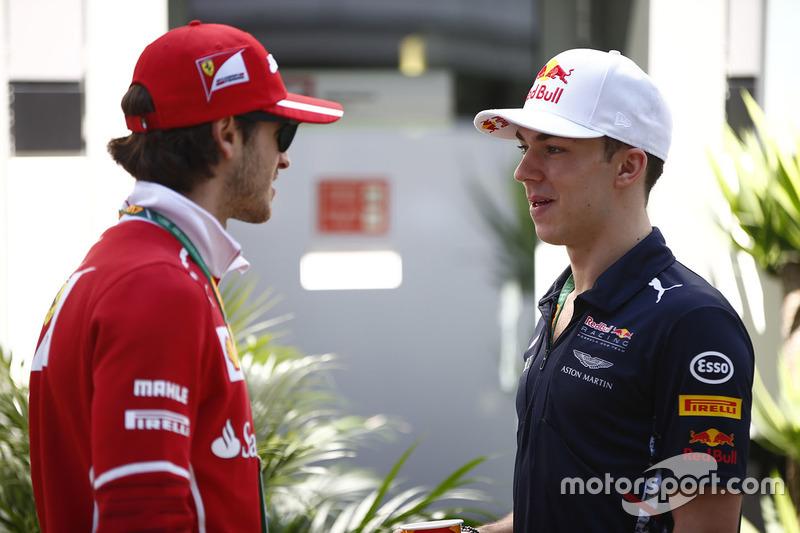 Antonio Giovinazzi, Ferrari, Pierre Gasly, Reserve Driver, Red Bull Racing